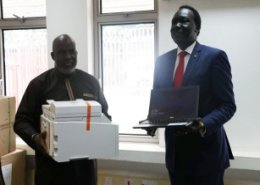 WHO donates ICT equipment in South Sudan