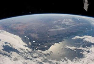Panoramic Image of South Africa NASA Wikimedia Commons