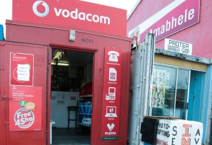 Vodacom Container store in Joe Slovo Park Cape Town South Africa 3867